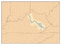 260px KentuckyRiver watershed