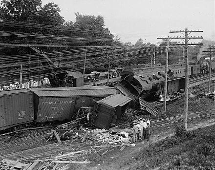440px Train Wreck 1922