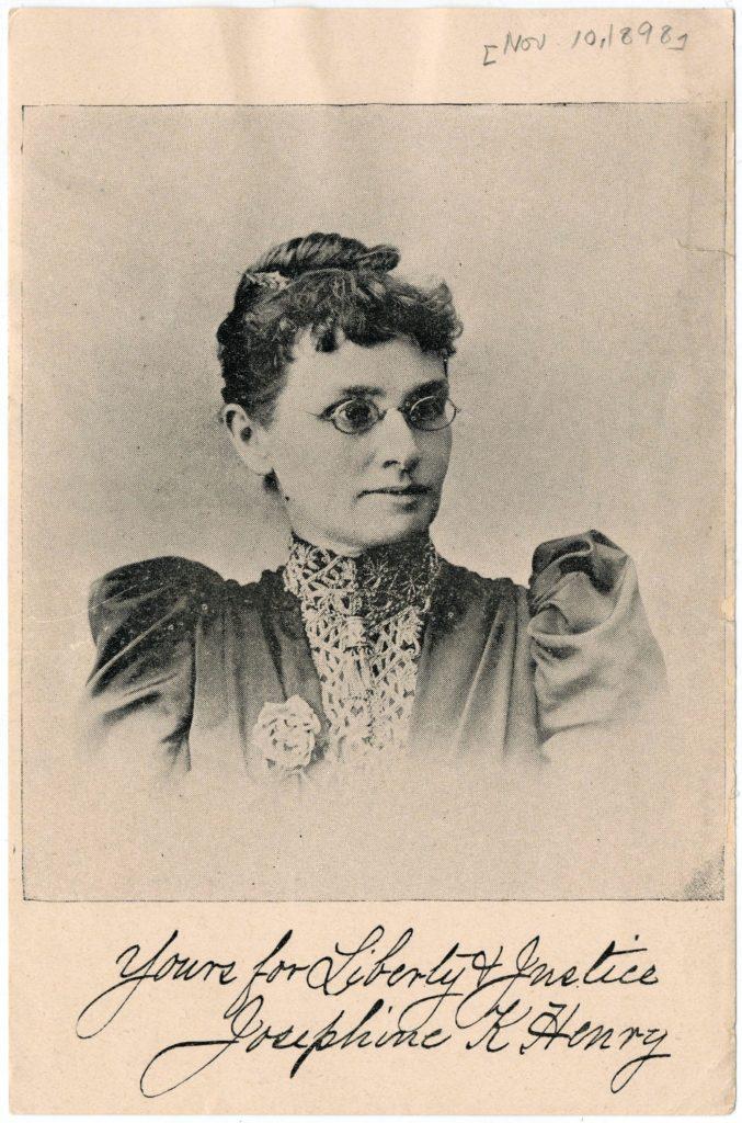 Feb 22 Josepine K Henry 1898
