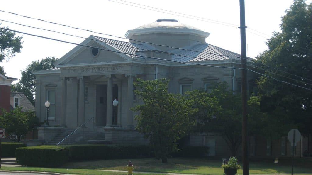 1280px Carnegie library in Henderson Kentucky