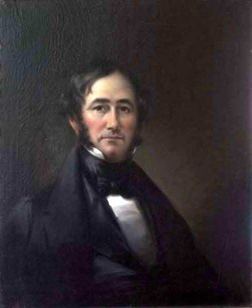 Self portrait of Joseph Henry Bush