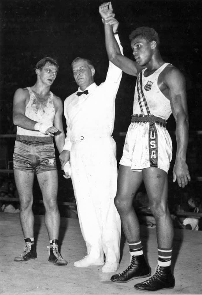 Zbigniew Pietrzykowski and Muhammad Ali 1960