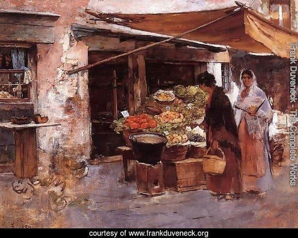 Venetian Fruit Market Oct
